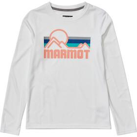 Marmot Windridge LS Top Girls white